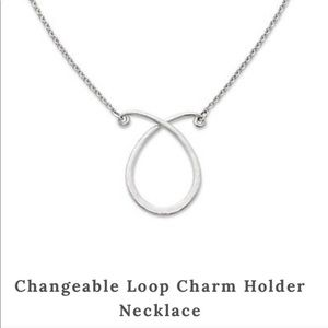 James Avery 24in Changeable Charm Holder Necklace